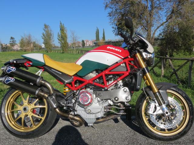 Ducati Ducati Monster S4Rs Testastretta Tricolore